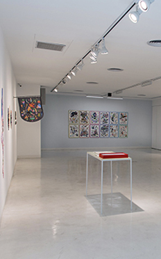"Fotografía de sala, exhibición: ""Futuras Cavernas"" de Ana Clara Soler"